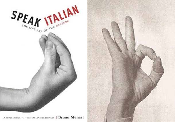 Speak Italian: The Fine Art of the Gesture by Bruno Munari